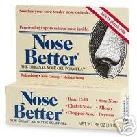 Aromatic Nose Ointment - Nose Better NonGreasy Aromatic Relief Gel-0.46 Oz (13G)