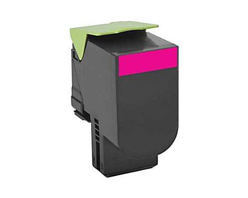 Lexmark Extra High Yield Magenta Return Program Toner Cartridge for US Government, 4000 Yield (80C0XMG)