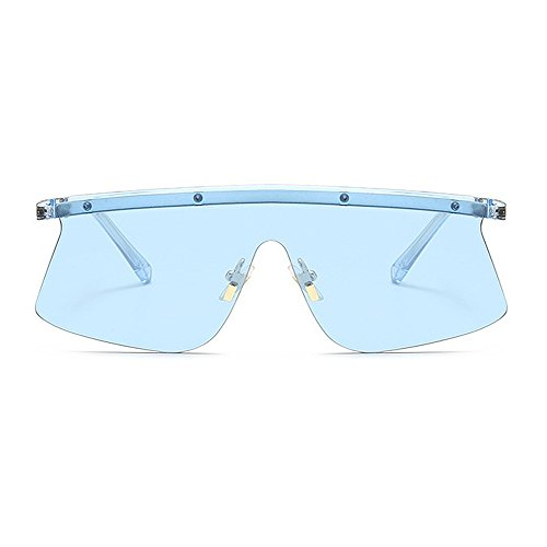 conduite One Élégant Style C5 lunettes sans été la nuances nouveauté designer piece pour femmes vacances UV de la brillants surdimensionné hommes cadre pour protection plein plage les soleil en air CXwrw1t0xq