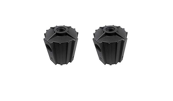 Slip Fitter Adaptor Brackets SlipFitter Tenon Adapter Fixture Transform The Slip Fitter in Arm Mounting Weatherproof for Shoebox Light Outdoor Flood Lights Black-1 Pcs