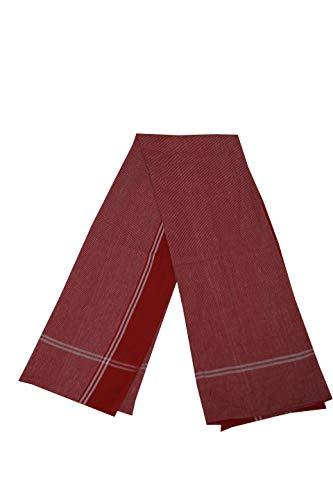 Adt Saral Cotton Bath Towel  Multicolor, Size: Length 75 cm x Width 150 cms