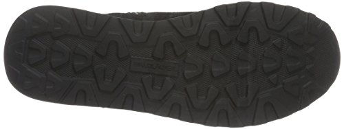 Waldläufer Hiroko, Zapatillas de Estar por Casa para Mujer Negro - Schwarz (VELOUR Tejus-Metal Taipei Glitter schwarz)