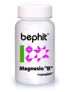 """MAGNESIO """"B"""" + VITAMINA B6 BEPHIT - 30 ..."""