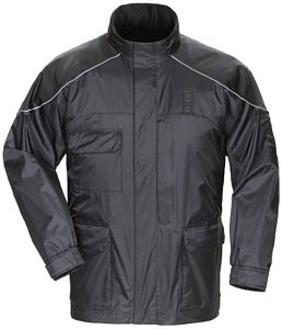 Tourmaster Men's Sentinel LE Motor Officer Rainsuit Jacket - Size : 4XL