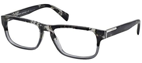 Prada PR07PV Eyeglasses-RO3/1O1 Spotted Black On Matte - 2014 Mens Prada Eyeglasses