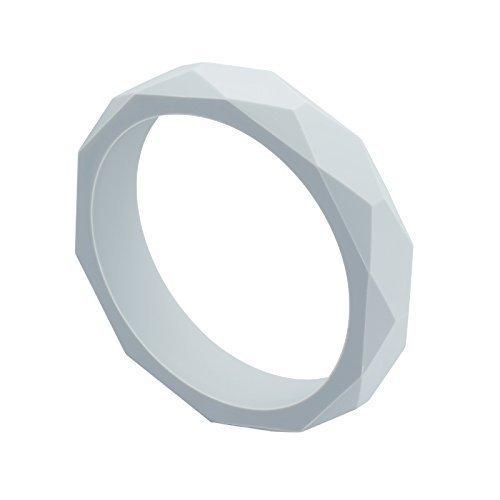 Cadeau de naissance - Bracelet Anneau de dentition pour Maman MintyWendy - Gris clair