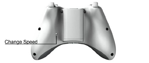 Adjustable 10 Speed Stealth Trigger Rapid Fire Modded Xbox 360 Controller (Call Of Duty 4 Modern Warfare Perks)