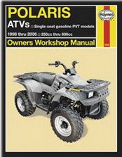 Haynes ATV Manual - Polaris - Center Polaris Shopping