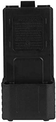 Caja de Almacenamiento portátil Caja de batería Caja de batería de plástico para Baofeng F8 F9 UV-5R Radio de Dos vías walkie Talkie Paquete de baterías JBP-X: Amazon.es: Electrónica