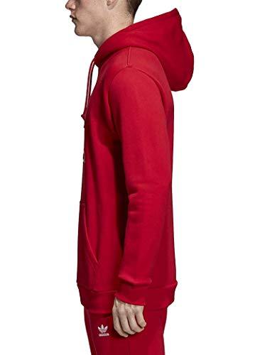 Hoodie shirt Homme Adidas Sweat Red Trefoil dx3614 Power 8S5qAcwWq
