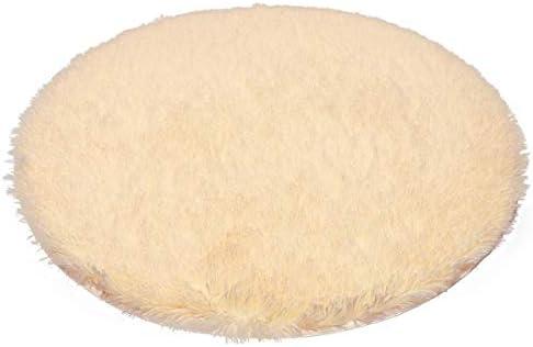 Amazon.com: Alfombra redonda de pelusa corta para colgar ...