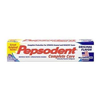 (Pepsodent Complete Care Anticavity Fluoride Toothpaste Original Flavor - 6 oz, Pack of 6)