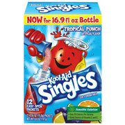 Kool-Aid Tropical Punch Drink Mix Singles, 12ct(Case of 2)