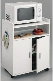 HOGAR24 Mueble Armario Auxiliar de Cocina para microondas Color ...