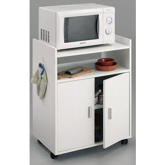 HOGAR24 Mueble Armario Auxiliar de Cocina para microondas ...