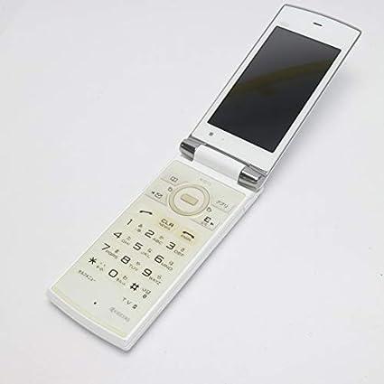 Amazon   au K011 パールホワイト白ロム   携帯電話本体 通販