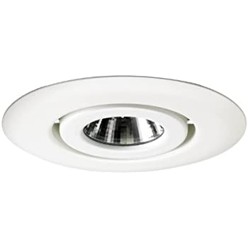Juno Lighting 440-WH 4-Inch Flush Gimbal Ring Recessed Trim White  sc 1 st  Amazon.com & Juno Lighting 449-WH 4-Inch Aiming Elbow Recessed Trim White ... azcodes.com