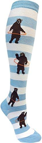 modsocks-womens-bears-with-hoops-knee-socks-6-10-fog