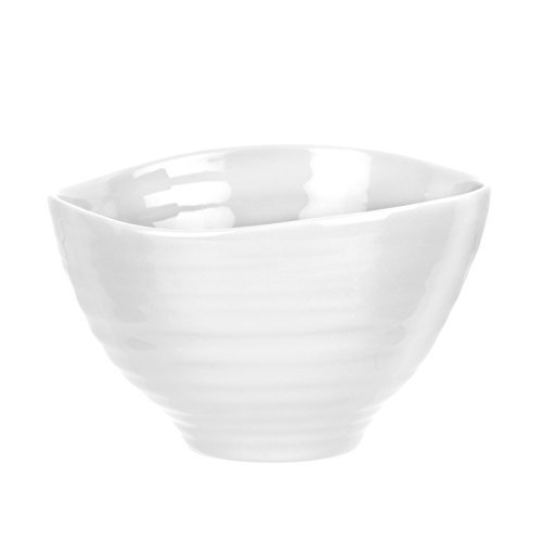 Portmeirion Sophie Conran White Small Footed Bowl by Portmeirion