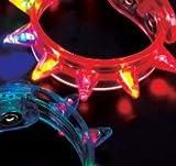 Light-Up Flashing Spike Bracelets (1 dz)