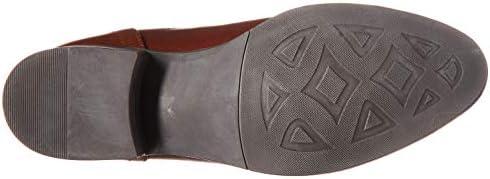 c5519f0f9fa Steve Madden Women's Journal Hiking Boot, Cognac Leather, 7.5 W US ...