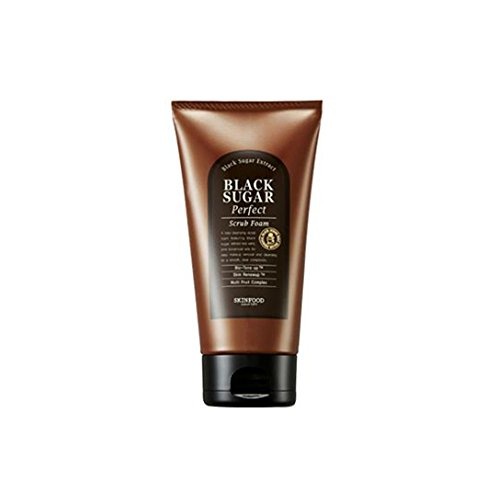 Foam Scrub (Skin Food 2015 New Black Sugar Perfect Scrub Foam 6.35)