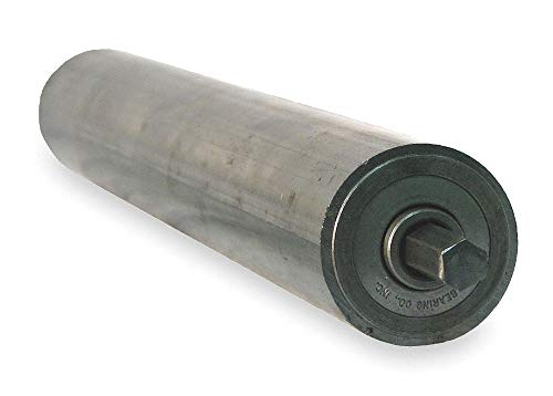 Steel Replacement Roller, 1.9In Dia, 31BF by Ashland Conveyor (Image #1)