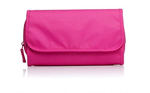 TS WITH TECHSUN Women's Bathroom Storage Multipurpose Foldable Dressing Kit Toiletry Makeup Cosmetic Travel Organizer…