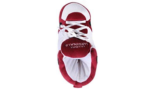 Happy Feet & Comfy Feet - OFFIZIELL LIZENZIERTE Herren und Damen NFL Sneaker Slippers Arizona Kardinäle