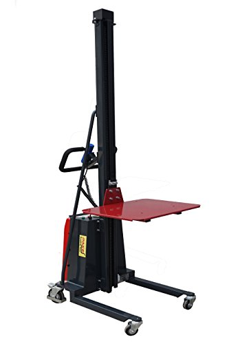 Pake Handling Tools - Electric Work Positioner Lift Truck, 550 lbs Capacity by Pake Handling Tools