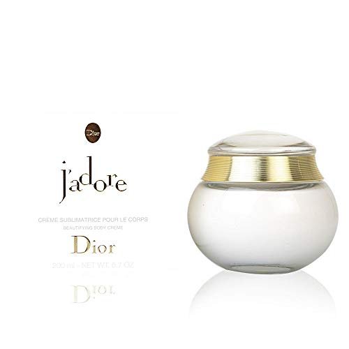 - Christian Dior J'adore Beautifying Body Cream, 6.7 Ounce