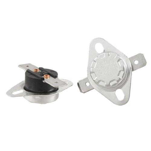 2 Pcs Temperature Controlled Switch Thermostat 150 Celsius N.C KSD301 ()
