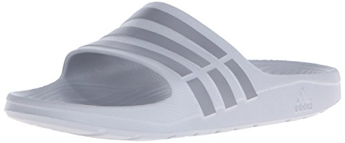 adidas Performance Men's Duramo Slides,Onix Grey/Grey,8 M US ()