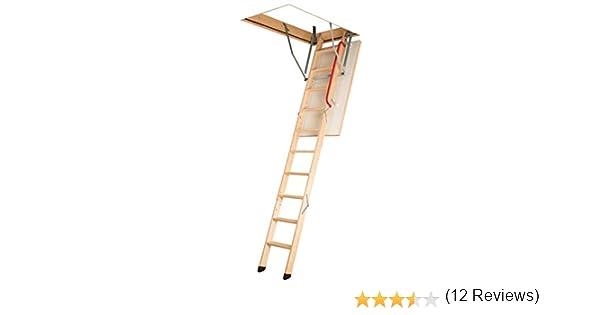 FAKRO suelo Escaleras LWK comodidad Plus 60 x 100 x 280: Amazon.es: Bricolaje y herramientas