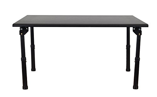 Luxor STAND-SD32F 32'' Desktop Standing Desk with Foldable Legs - Black by Luxor (Image #5)