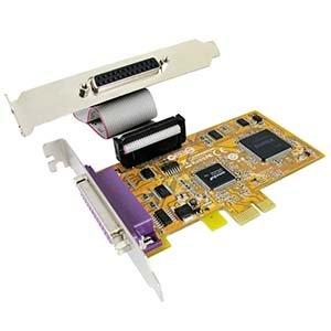 BestLink 2 Port IEEE1284 Parallel Low-Profile PCI Express Card by BestLink