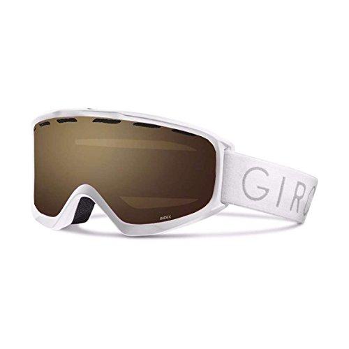 Giro 2018 Index OTG Ski Goggle - White Core Light Frame/Amber Rose Lens - 7084500 - Giro Index Otg Snow Goggles