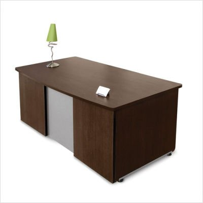 (OFM 55145-WLNT Venice Series Executive Desk, 36