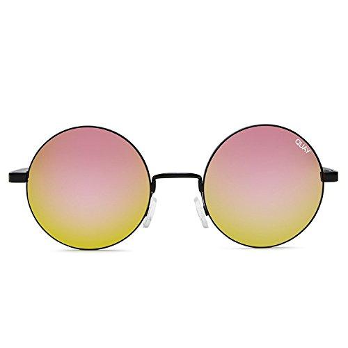 Quay Australia ELECTRIC DREAMS Women's Sunglasses Round Retro - - Retro Sunglasses Quay