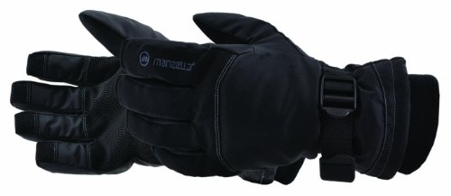 Manzella Men's Dakota Glove (Black, Large)