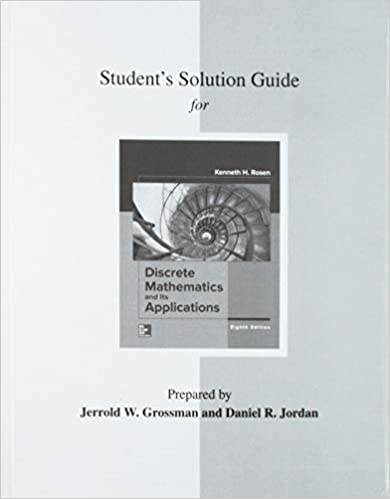 Student S Solutions Guide For Discrete