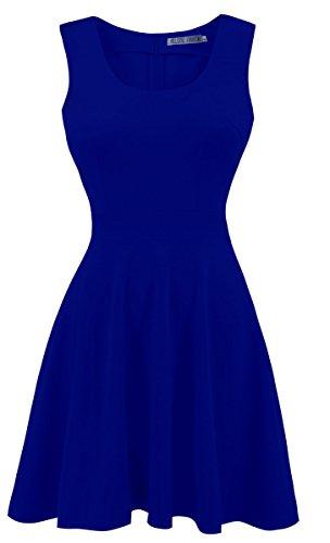 vestidos royal blue - 8