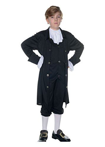 Big Boys' John Adams Costume - Medium ()