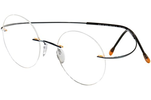 Silhouette Eyeglasses Titan Min Art Pulse Chassis 5490 6056 Optical Frame (6056 Eyeglasses)