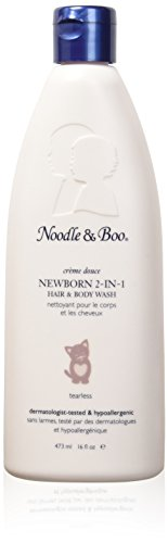 Noodle & Boo 2-in-1 Newborn Hair and Body Wash, 16 (Hair Body Wash Gel)