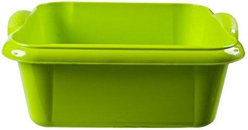 Schüssel, 8 L Grün, 14 x 34 x 28 cm, Spülschüssel Platikschüssel Waschschüssel