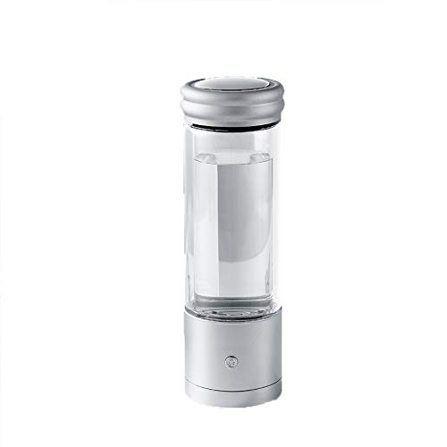 ZHANGZ0 Hydrogen Rich Water Cup, Electrolytic Negative Ion Cup Weak Alkali Cup Chlorine-Free Health Cup USB Charging 2019 350ML