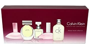 Calvin Klein Deluxe 5 Piece Miniature Perfume Gift Set For Women ...