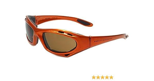 858c8b4cd9 Amazon.com  Harley-Davidson Designer Sunglasses HDV011-OR in Orange ...