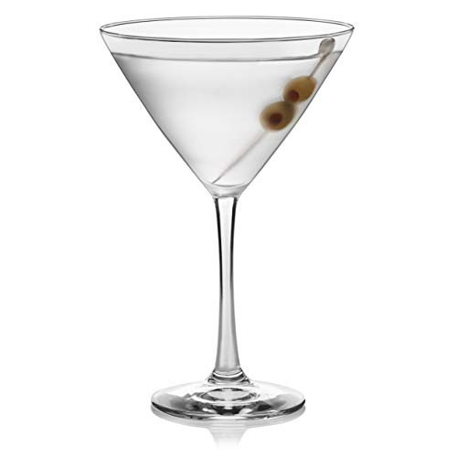 Libbey Midtown Martini Glasses, Set of 4